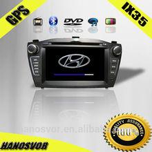 Car usb player for Hyundai IX35/Tuscon in dash 2din with gps bluetooth usb sd radio tv ipod rear camera