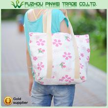 stripe canvas beach tote bag wholesale / sublimate tote bag