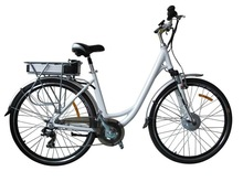 "Windshadow electric bicycle 28"", EN15194 approval, with 250W motor, 36V lithium battery, charger time:5-6 hours"