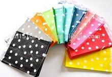 Polka dot Wedding Favor Bags Favor Candy Paper Goods Bag kraft paper bags