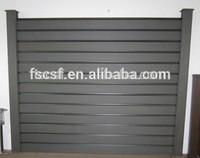 Wood Plastic Fence/Enclosure Wall 1.8m/2.0m