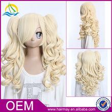 Five Star Quality High Density Lolita Blonde Custom Cosplay Wigs