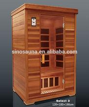 Detox Spa LOW EMF Far Infrared Finnish Wood Pallet Sauna (CE/RoHS/ISO/TUV)