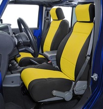 jeep wrangler seat cover design with removable headrest covers