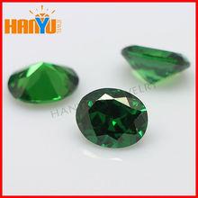 Synthetic oval shape cz profitable loose gemstone