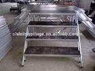 color stage, Aluminium adjustable stage ladder,folding stage ladder