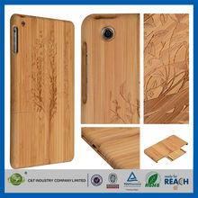 C&T Custom Design handwork natural wooden bamboo smart case for ipad mini 3
