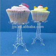 transparent acrylic cupcake display case