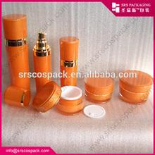 De China cono forma de la botella de loción con el envío de la muestra 30 ml 50 ml 80 ml 120 ml decoración botella