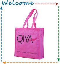 Shoe pink gift bag