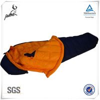 High quality animal shaped goose down sleeping bag RS-3041