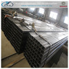 welded black rectangular steel pipe made in China