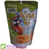 plastic tube food packaging flat bottom bag paper coffee bag kraft coffee bag ziplock sealed for food packaging