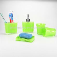 clean blue Acrylic bathroom sets