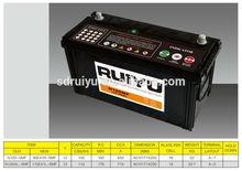 Sealed Maintenance Free Car Battery Made In China12V110AH SMF Lead Acid CAR BATTERIES FOR CAR STARTING Japan Technology Standard