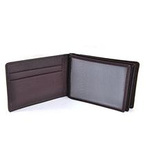 ubt9322 handmade russian black genuine leather business cardholder for work