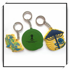 New design soft PVC cheap keyring with logo for advertising from factory