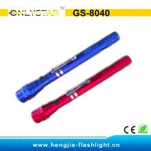 GS-8040 aluminum telescopic torch light long distance most powerful flashlight