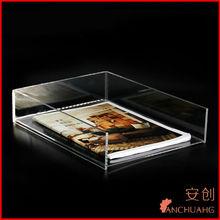 organic glass notebook stand holder_glass ceramic holder
