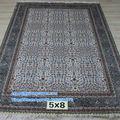 5'x8' local turca alfombra hecha a mano de doble nudos beauteous imagen
