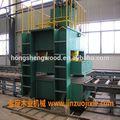 2500 X 1250 mm de madera contrachapada laminado máquina de la prensa prensado en frío