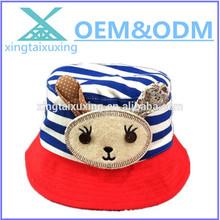 custom fashion cute children sun visor outdoor bucket hat