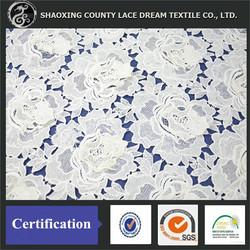 Fashionable Fancy Pattern Wedding Embroidery Crochet Manufactory Lace Fabric