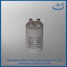 terminals 450V 5uf CBB60 sh washing machine motor starting capacitor
