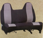 neoprene car seat cover for SUV or truck double seat design without removable headrest