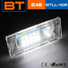 Brightness 144LM 3W LED Licence Plate Lights
