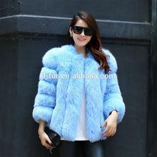 2014 Wholesal Lastest Design Fox Fur Coat, Fur Coat ,Fox Coat with Factory Price