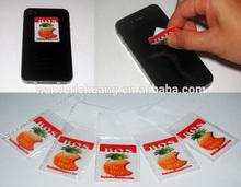 mobile screen cleaner sticker mini screen cleaner