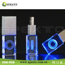 Cheap! Promotional Advertising USB, light up usb flash drive