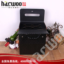 Hot popular 6 bottles wine box,wine gift packing