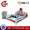 Armário de cozinha que faz máquinas/rodada de gravura em madeira cnc roteador jcut- 1325- 4r( 51/4x98.4x 7.8inch)