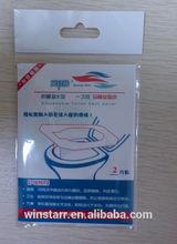 virgin travel pack toilet seat paper cover