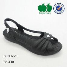 ladies footwear old design plastic sandal shoes
