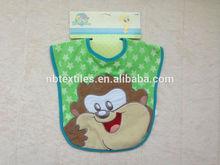 2014 Wholesale babybjorn soft bib 100%cotton bib overalls