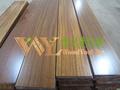 Fsc& pefc cera- oleada iroko resistente à água pisos de madeira