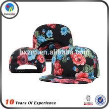 girls floral snapback hats