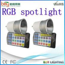 New 5w rgb spot light,cob rgb spot light,led light mini spot