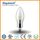 cheap led candle bulb wholesale/clear candle led light/e12 e14 led candle lamp e14 dimmable