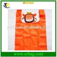 fashion nylon recycle foldable pet monkey shopping bag