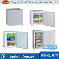 Single Door stainless steel mini portable upright deep freezer price