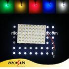Super bright! auto roof light dome light led panel lighting 5050SMD 48pcs