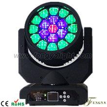 19pcs x 12W RGBW LED Moving Beam / Effect Bee Eyes Light