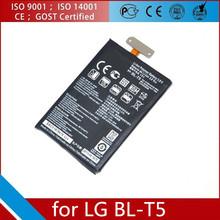 2100mah high capacity mobile phone battery BL-T5 for LG For LG F180 E960 E970 E973 Optimus Google Nexus 4 E960 E975 BL-T5 Bater