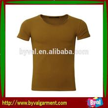 High quality OEM men's breathable t shirt
