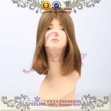 Hot selling Top quality silk Virgin Human European Hair Jewish Wig Kosher Wigs