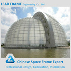 Clear Glass Dome For Steel Frame Structure Building Roof